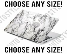 White Marble Modern Universal Laptop Skin Decal Sticker Tablet Skin Vinyl Cover
