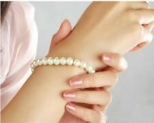 40pcs Women Resin Pearl Bracelets Cream Color Wholesale Jewellery Free Shipping
