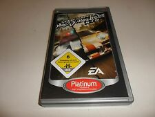 PLAYSTATION PORTABLE PSP NEED FOR SPEED-most wanted 5-1-0