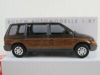 "Plymouth Voyager /""Woody/"" Busch 44623-1//87 Neu Silber"