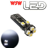1 Ampoule w5w 24V T10 Led Blanc Camion RENAULT VOLVO DAF TRUCK SCANIA IVECO  MAN