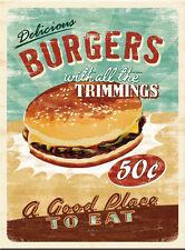Delicious Burgers da Cucina Cibo caffè ristorante bistrot rétro REGALO