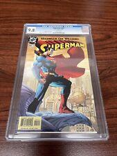 SUPERMAN #204 CGC 9.8 *FISHERMAN* JIM LEE 2004