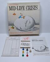 Mid-Life Crisis Original Vintage Adult Party Strat Board Game 1982 Game Works