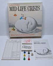 Mid-Life Crisis Original Vintage Adult Party Strat Board Game 1982 Game Works