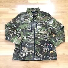Under Armour Threadborne Ridge Reaper Forest Camo Wool Jacket Women Size XXL