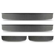 Front & Rear Door Entry Guard Sill Plate Protectors for 2018 2019 Jeep Wrangler