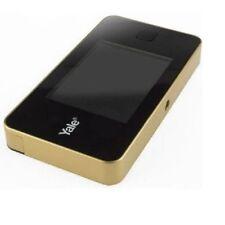 Mirilla digital Electrónica Yale Ddv500 dorada