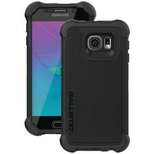 BALLISTIC TX1603-A06N Samsung Galaxy S6 Tough Jacket Maxx Case/Holster, Black