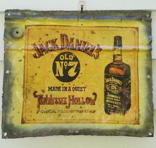 "Sign/plaque, tin, the iconic ""Jack Daniels"", bar/garage/man cave etc., decor"