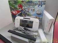 NINTENDO Wii U shiro 32GB Mario Kart 8 set WUPSWAGH from japan