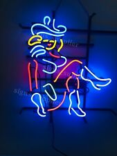 "New Las Vegas Cowgirl Neon Sign Beer Bar Pub Gift Light 20""x16"""