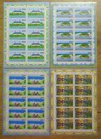 10 x Bund Nr. 1849 - 1852 KB postfrisch BRD Kleinbogen Zehnerbogen Satz 1996
