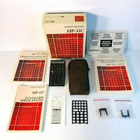 VTG Hewlett-Packard HP-41C Programmable Calculator Complete w/ Manuals & Box EUC