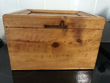 Vintage Hand Crafted Apprentice Box Lots Of Modern Uses From Craft To Jewllery