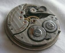MOVEMENT HAMILTON WATCH POCKET WATCH - 41MM - FOR REPAIR OR PARTS - SWISS