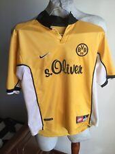 Maglia calcio nike borussia dortmund home trikot jersey bambini 1998 vintage