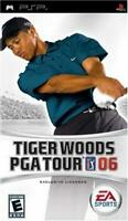 Tiger Woods PGA Tour 06 Sony PSP Game Used Complete