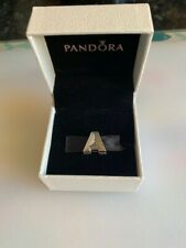 Pandora Reflexions Sterling Silver Initial Charm A
