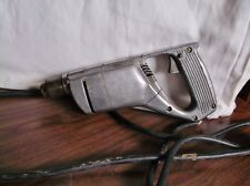 """Vintage CRAFTSMAN Electric Drill, 315 7790, D Handle All-Metal 1/4"""", 2000 RPM"""