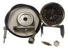 SMITHS SPEEDOMETER 160KM WITH CABLE & DRIVE ROYAL ENFIELD BSA NORTON REPLICA