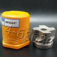 BAP 400R-63-22 4F indexable face milling cutter +10PC APMT1604 DP Carbide insert