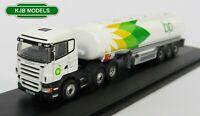 BNIB N GAUGE OXFORD DIECAST 1:148 NSHL01TK Scania Highline Tanker BP Lorry