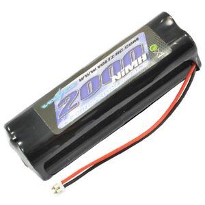 Voltz Tx Square Battery 9.6 2000Mah Jr/Spek + Pulse Stick VZ0182