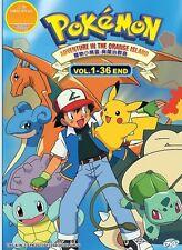 Pokemon Adventures on the Orange Islands Full Series DVD in English Audio