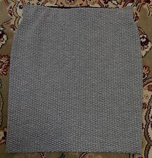 Ann Taylor Loft Grey Knit Body Con Skirt XS Petite