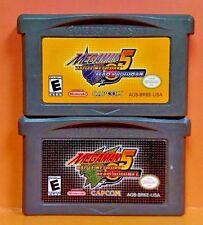 Mega Man Battle Network 5 Team Protoman + Colonel Game Boy Advance GBA Nintendo