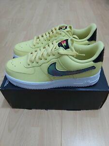 New Nike Air Force 1 07 Lv8 3 Swoosh Pack Men's UK SIZE 9.5 EU 44.5