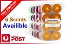 8pcs Scented Tea Light Tealight Candles 4 Hour Burn Scent Candle Wedding Party