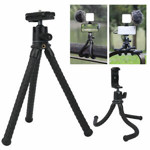 New Octopus Flexible Tripod Stand Monopod Mount Holder For GoPro Camera