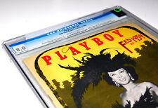 Vintage Playboy February 1954 CGC 8.0 (Very Fine) Playmate Margaret Scott V.1 #3