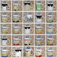 STARBUCKS CITY MUG Cup Tassen Städtetasse Sammeltasse International Travel Cups