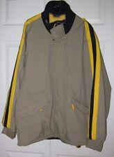 Hurley Mens Khaki Jacket Also Ski Jacket L * Sharp Must C*
