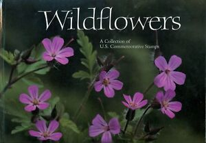 US 2647-96 Wildflowers Book w/MNH Sheet & Mount NIP