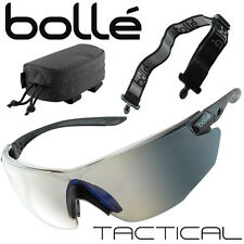 Black Kit COMBAT Glasses Bollé Tactical ballistic sunglasses desert dust bike