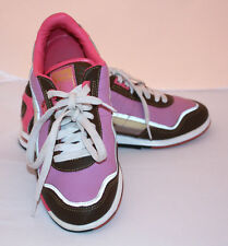 Pastry V & A  Run Athletics running shoes sneakers pink  purple yellow brown 7.5