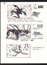 SHE'S OUT OF CONTROL 1989 ORIGINAL STORYBOARD ART ALTERNATES CARL ALDANA #3 FALL