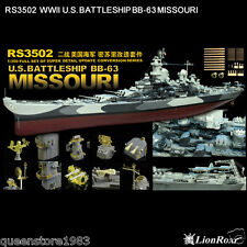 LionRoar PE details 1/350 WWII US Navy Battleship BB-63 Missouri For Tamiya