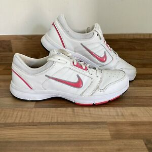 Nike Steady IX Shoes White And Pink UK Size 6 Women's Trainers