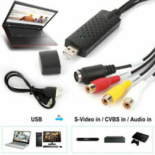 Easy Cap Capture Card USB 2.0 Audio TV Video VHS VCR to DVD Converter Adapter