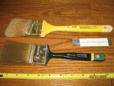 Vintage Montgomery Ward Paint Brush Lot of 2