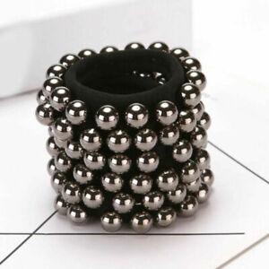 Fashion Seamless Trendy Hair Rope Charming Pearl Elastic Hair Bands Accessories