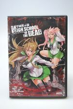 High School of the Dead: Complete Collection (DVD, 2011, 2-Disc Set) Like New #