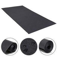 2.5'x 5' Exercise Equipment Mat Gym Bike Floor Protector Treadmill Mat PVC