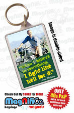 Rectangle Celebrity Plastic Collectable Keyrings