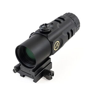 Athlon MAG51 5x Red Dot Magnifier with Flip Mount #403050